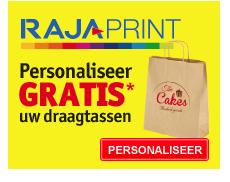 Personaliseer GRATIS* uw draagtassen