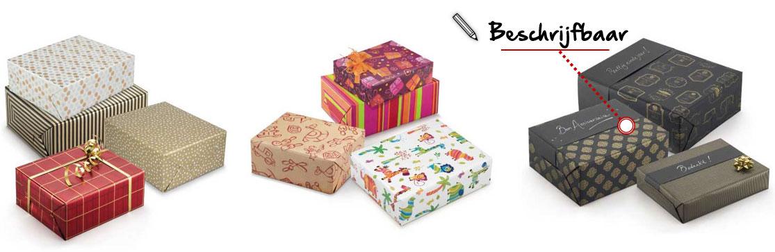 Kies het ideale cadeaupapier voor je geschenken