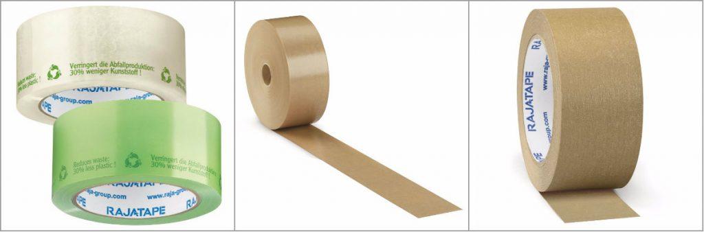 Milieuvriendelijke verpakkingstape