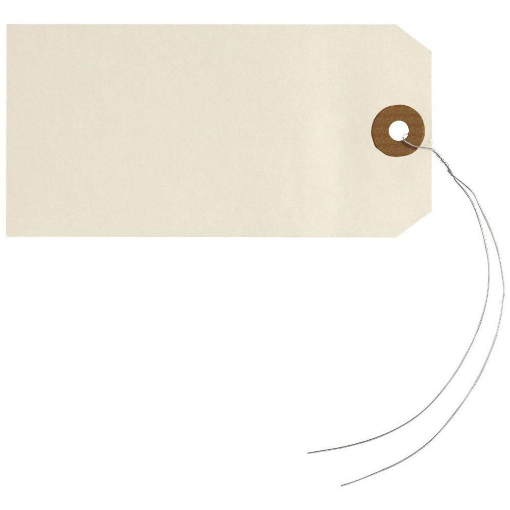 Papieren labels van Rajapack