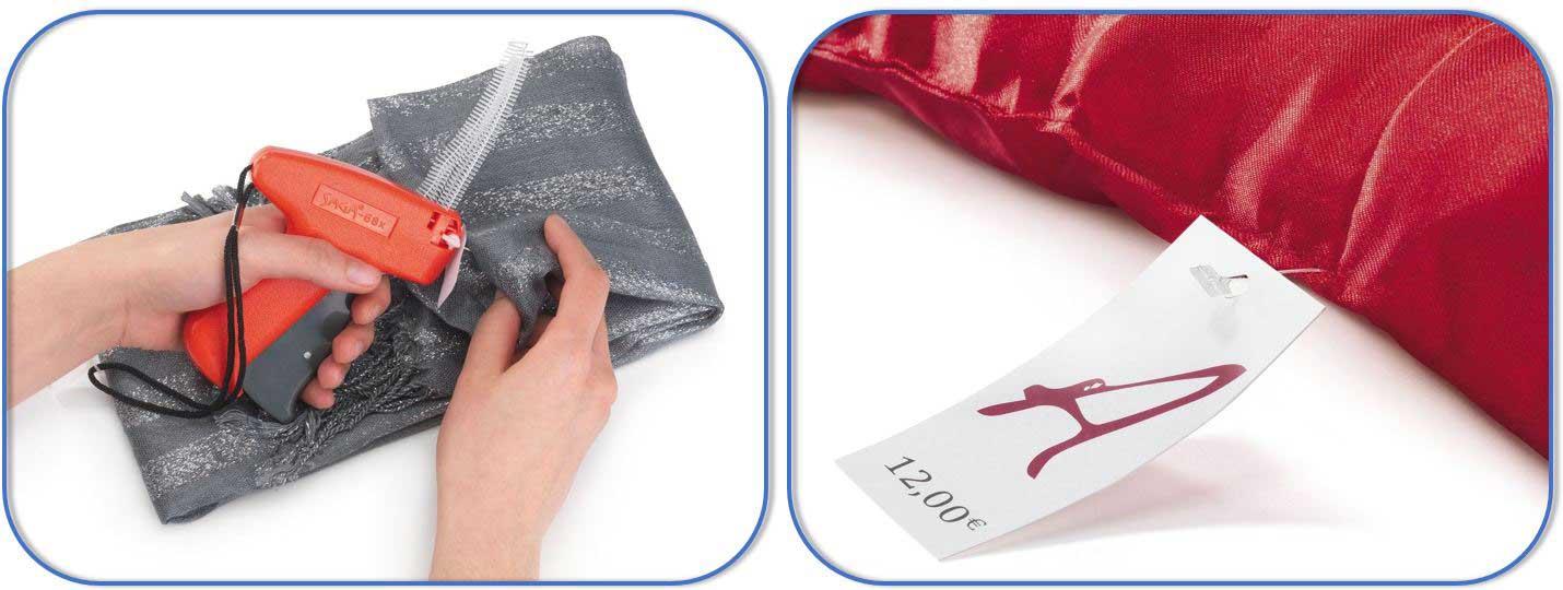 Voorzie je delicaatste stoffen van een etiket met bijvoorbeeld een textieltang