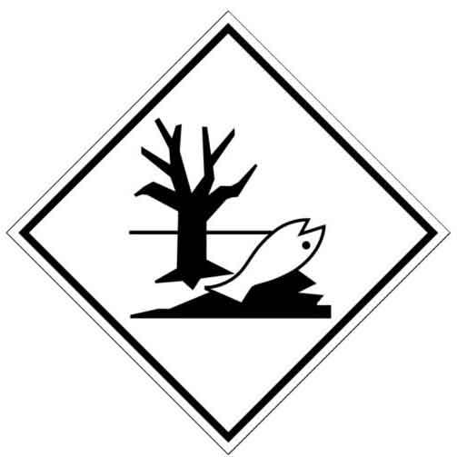 Sustancias peligrosas para el medio ambiente.