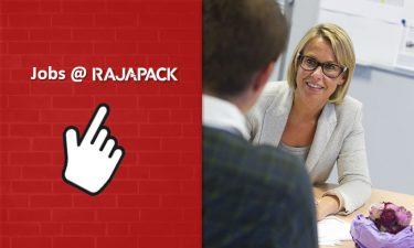 Ontdek hier al onze nieuwe vacatures en kom ook werken bij Rajapack