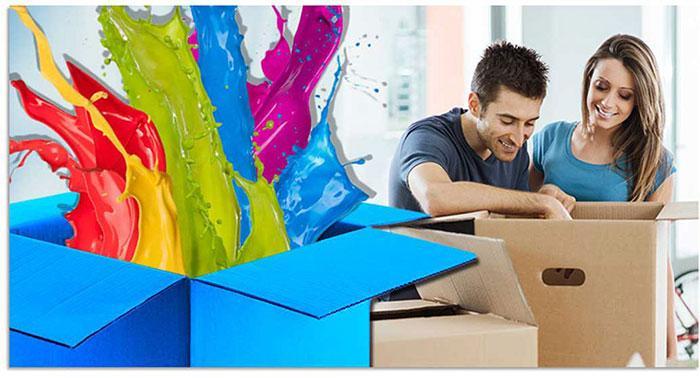 Geef kleur aan je dozen met een gepersonaliseerde verpakking