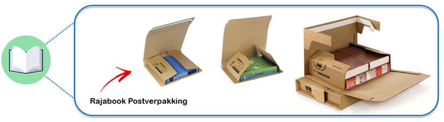 Boeken verzenden met de Rajabook postverpakkingen