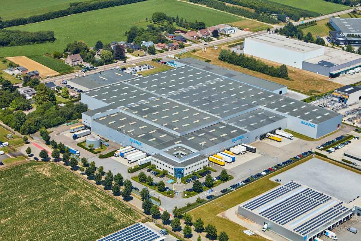 RAJA Benelux vestiging in Tongeren. Dé specialist in verpakkingen.