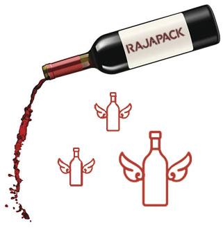 Kies voor een stevige wijndoos die je flessen beschermt bij elke verzending