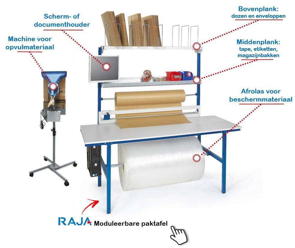 Moduleerbare paktafel van RAJA