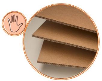 Sensorisk emballage med din berøringssans