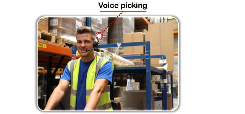 Voice picking bij Rajapack