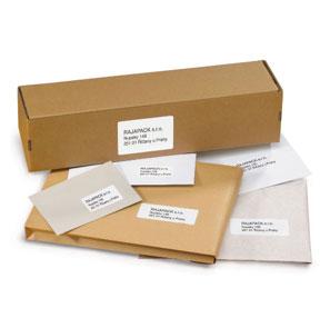 Etiketten voor laser printen van Rajapack