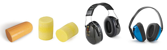 Soorten gehoorbescherming