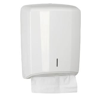 Dispenser voor standaard gevouwen handdoeken