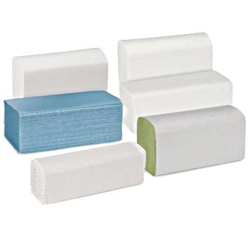Standaard gevouwen handdoeken