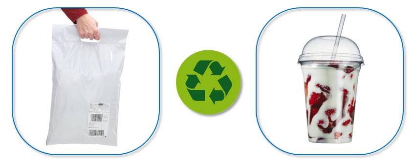 Verpakkingen in plastic