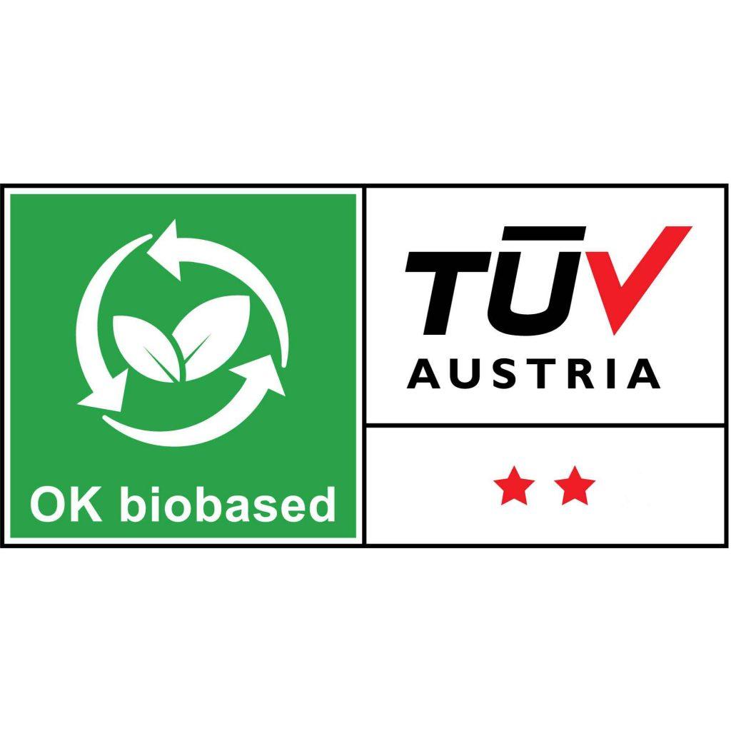 Logo bio based van TUV Austria