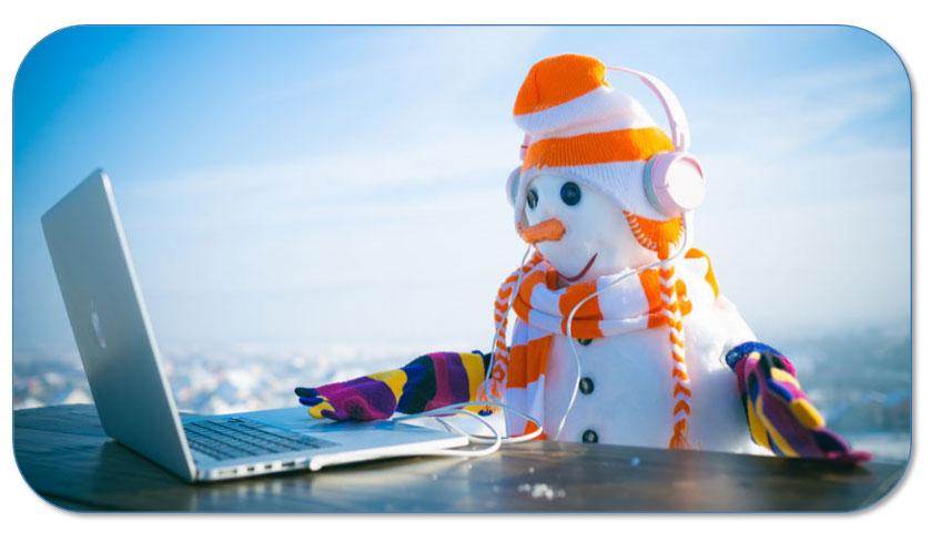Draag aangepaste kledij om je te beschermen tegen de koude
