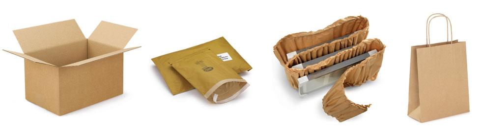 Overzicht van enkele soorten karton en papier