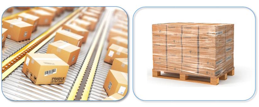 Met een verpakking ben je verzekerd van een optimale opslag en transport.