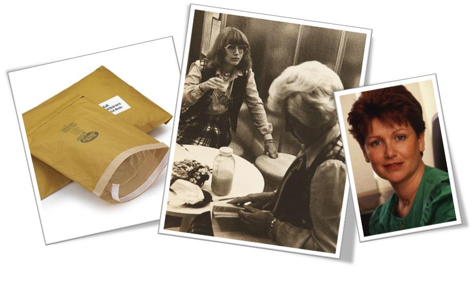 Gewatteerde papieren envelop - Danièle Kapel-Marcovici start bij Cartons RAJA