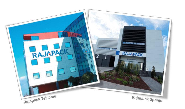 De RAJA-Groep breidt in de jaren 2000 verder uit in Europa