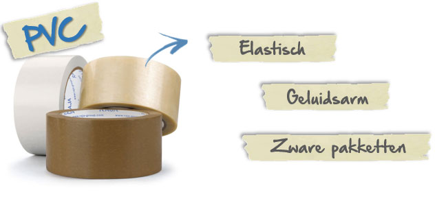 De eigenschappen van PVC tape
