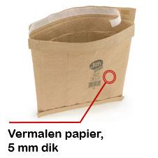 Gewatteerde papieren envelop 65% gerecycleerd