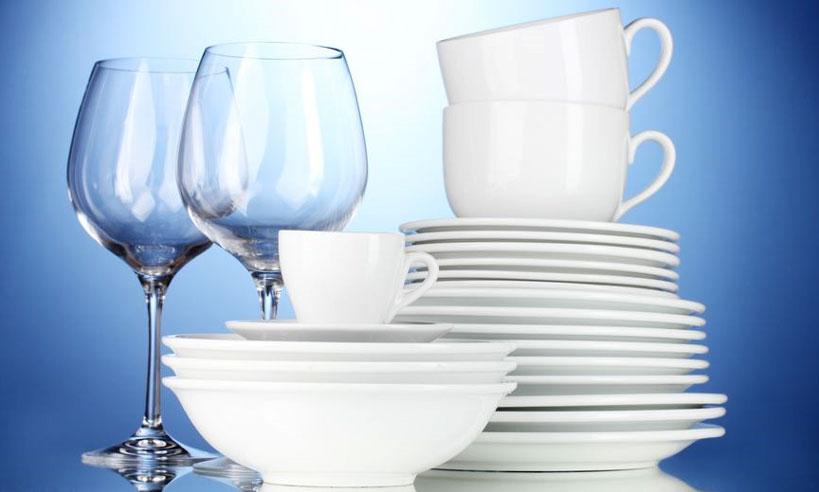Envoyez du verre et de la porcelaine en 4 étapes