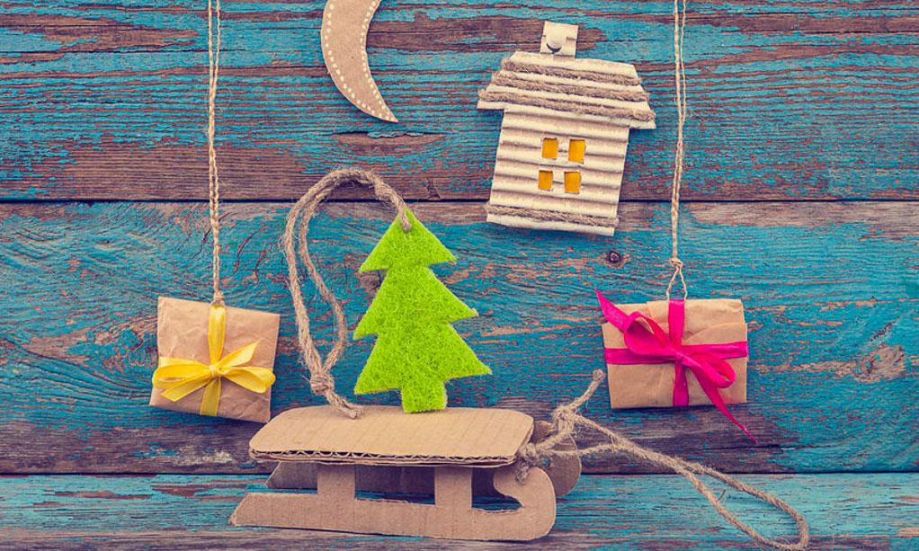 Upcycling: 9 duurzame decoraties voor kerst