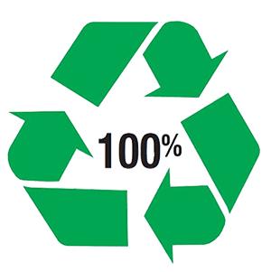 ecologisch label voor recycleerbare verpakkingen