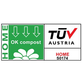 OK Compost HOME van TUV Austria